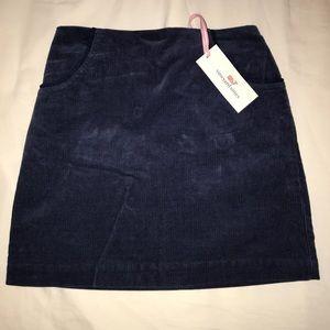 Vineyard Vines girl's corduroy skirt